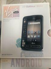 LG Optimus Slider VM701 - Black (Virgin Mobile) Smartphone