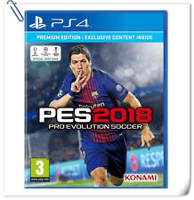 PS4 Pro Evolution Soccer / Winning WE 2018 PES SONY Konami Sports Games