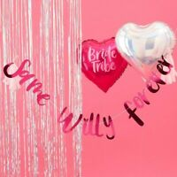 HEN PARTY SAME WILLY FOREVER BUNTING - BRIDE TRIBE, Hen Night,Wedding,Decoration