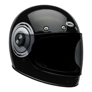 25% OFF Bell Cruiser Bullitt Bolzen Schwarz/Weiß Retro Motorrad Helm 2 Visiere