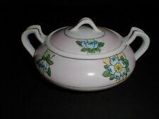 Empress China Pink Floral Squat Art Nouveau Sugar Bowl - Cute