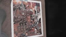 Walden Africa African Black Genuine Lithograph Canvas Print Artistic Impressions