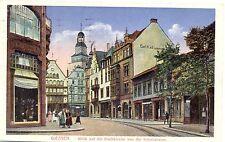 Giessen, Stadtkirche, Schulstrasse, Geschäfte, 1929