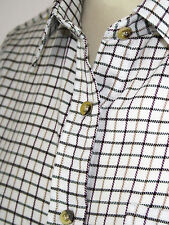 Country Classic Womens Check Shirts - Tattersal Check - Long Sleeve RRP £30