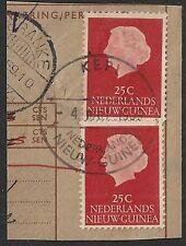 Netherlands New Guinea KEPI on NVPH 30 in pair