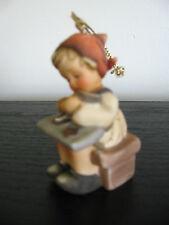 1997 Berta Hummel Child Cookie Christmas Tree Ornament Porcelain Goebel Figurine