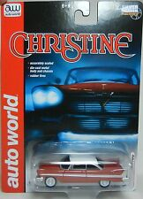 2016 AUTO WORLD 1:64 *CHRISTINE* 1958 Plymouth Fury MOVIE CAR *NIP*