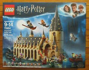 LEGO HARRY POTTER 75954 HOGWARTS GREAT HALL BUILDING SET 878 PCS WIZARDING WORLD