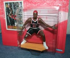 1997 NBA Starting Lineup DENNIS RODMAN RED HAIR Chicago Bulls Figure/Card MIP