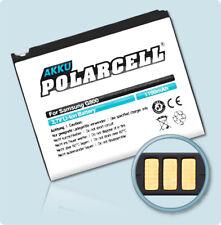 PolarCell Akku für Samsung S5230 Star Pixon12 GT-M8910 1100mAh Batterie Accu