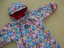 JOJO MAMAN BEBE 💙💙Waterproof Fleece Lined All In One SNOWSUIT 9-12m Rain suit