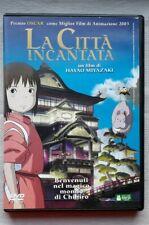 La città incantata - DVD - H. Miyazaki, 1a Stampa Buena Vista. RARO. Ottimo!