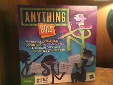 Hasbro Anything Goes 2010 Boardgame NIB