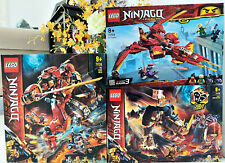 LEGO NINJAGO 3 BRAND NEW SETS ON-HAND FAST SECURE SHIPPING 71720 71719 71704