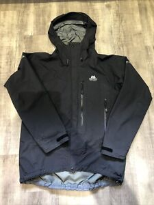 Mens Mountain Equipment goretex pro Shell jacket large (black) Used