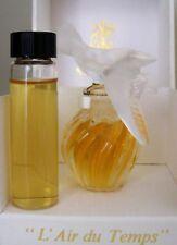 Vintage L'Air du Temps Perfume by Nina Ricci~1/2 oz Vial~Pure Parfum~Hard 2 Find