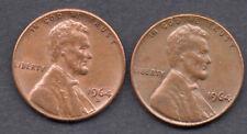 1964-P & 1964-D trigo de Lincoln Monedas De Un Centavo Penny Usa