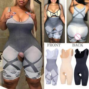 Women Full Body Shaper Slimming Shapewear Tummy Control Cincher BodySuit Corset