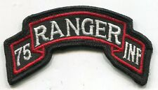 Vietnam Era US Army 75th Infantry RANGER Scroll Tab Color Patch