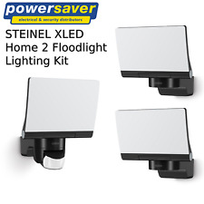 Steinel XLED Home 2 Outdoor Floodlight Lighting Kit - Black
