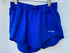Saucony Women's Lined Athletic Workout Running Shorts Size XS Blue