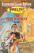 Illustrated Classic Editions Thrillers The Time Machine by H.G. Wells PB 1995