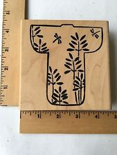 Hot Potatoes Rubber Stamps  - Bamboo & Dragonfly Kimono - NEW