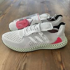 Brand New Adidas Carbon ZX 4D Runner AEC Shoes Size 11  - FY7916 White / Pink