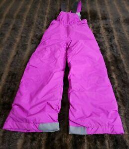 Columbia Girls XS Purple Ski Snow Bib Suit Overall Onsie