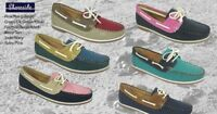 Ladies Shoreside Deck Shoes - FREE SHIPPING Lady Deck Shoes  BNIB Loathers