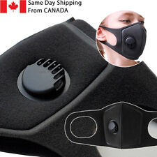 Protective Reusable Face Mouth Mask with Breathing valve FAST SHIPPING Canada