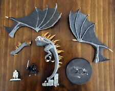 Lord of the Rings SBG Ringwraith on Fell Beast with Frodo Games Workshop metal