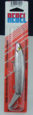 "Rebel J3001S 5.5"" Jointed Minnow Floater 3/8 Oz Silver/Blue Back 21531"