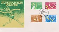 (H2-122) 1982 AU 4set XII COMMONWEALTH GAMES (C)