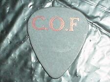 CRADLE OF FILTH Logo RaRe Midan 2000 2001 Concert Tour GUITAR PICK Black Metal