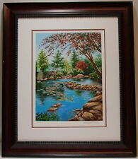 Schaefer Miles A Peaceful Time Signed Authentic Serigraph Screen Print Art