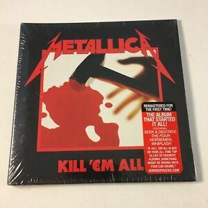 Metallica - Kill 'Em All CD. Brand New and Sealed. DigiPak