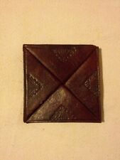Antique Moroccan Leather Wallet