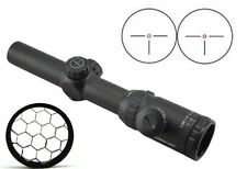 Visionking 1.25-5x26 Rifle Scope Hunting Sight & Honeycomb Sunshade flashkill