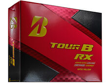 BRIDGESTONE TOUR B RX 1 DZ GOLF BALLS - OPTIC YELLOW - NEW IN BOX
