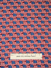 Patriotic American Flag Fabric ~ 100% Cotton By The Yard ~ Windham American Hero