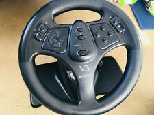 Nintendo 64 Console & V3 Racing Steering Wheel with Pedals & 4 Games