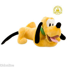 DISNEY PLUTO PLUSH DOG SOFT TOY 22 CM LENGTH - NEW GENUINE DISNEY KIDS TOYS