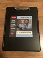 Dexas 3517-91 Slimcase 2 Storage Clipboard with Side Opening, Black
