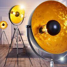 Lampadaire Design Lampe sur pied Lampe de sol dorée Projecteur Luminaire 147802