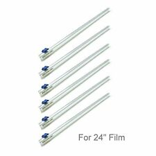 """Six (6) Plastic Wrap 24"""" Slide Cutters Stretch Cling Film Cutter Mymicco 17201"""