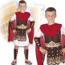 Mutiger Römer Kinderkostüm Krieger schwarz-rot Cod.304622
