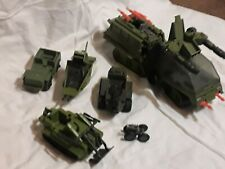 Vintage Gi Joe Havoc Tank Hasbro 1986 & Other Vintage Gi Joe Military Vehicles