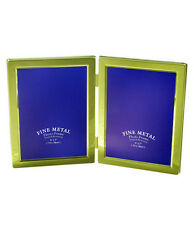 """Double Gold Photo Picture Frame 4x6"""", 5x7"""" & 6x8"""" - Brass Plated"""