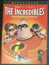 The Incredibles (2005 Dvd, 2-Disc Collector's Edition, Widescreen) Disney